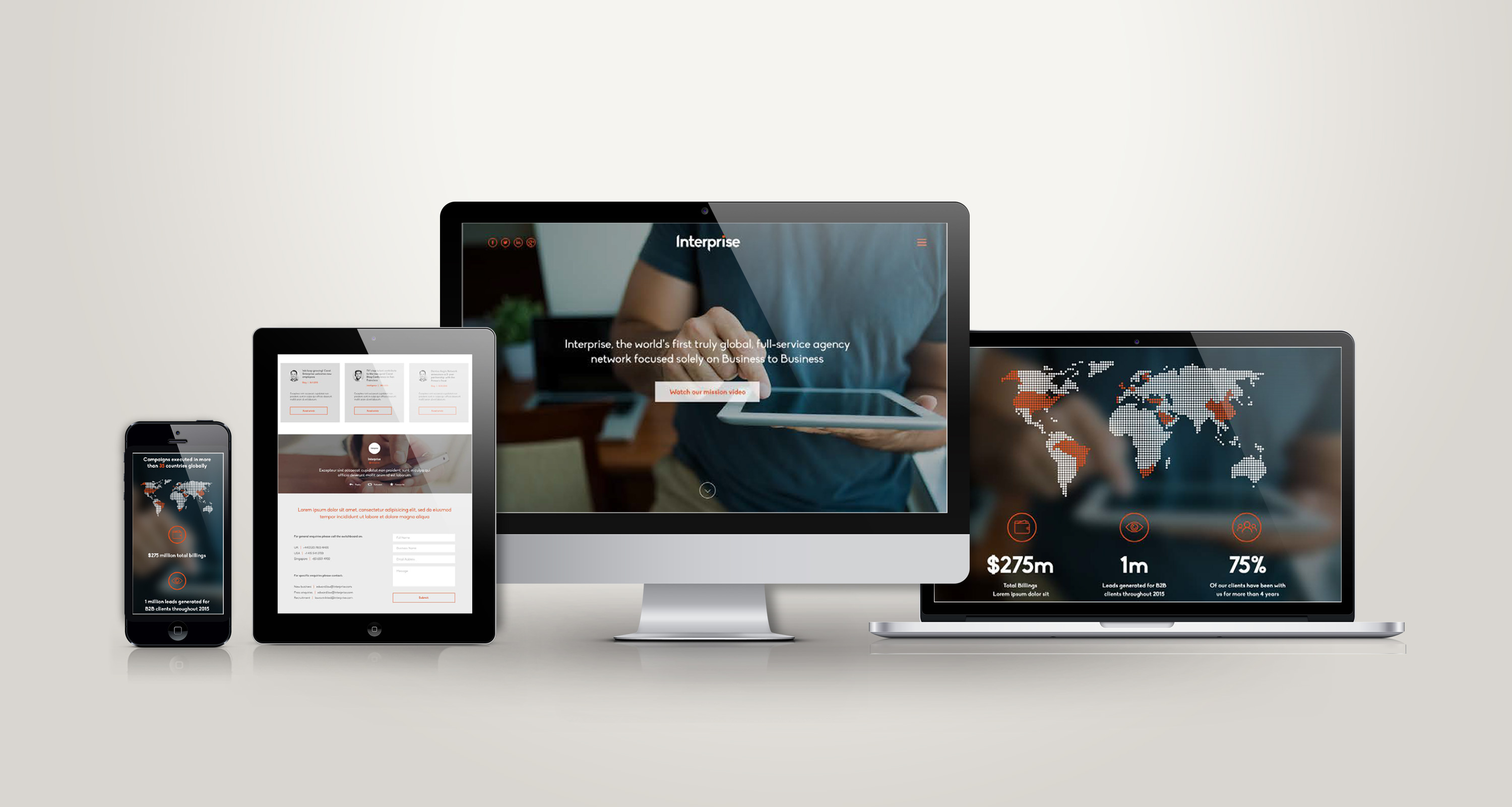 INTERPRISE-Responsive-showcase-presentation